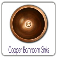 copper bathroom sinks